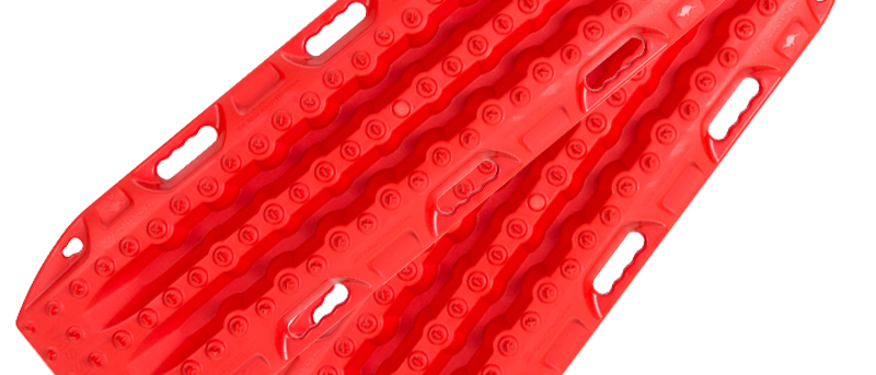 Maxtrax MKII 4WD Recovery Boards (Red)