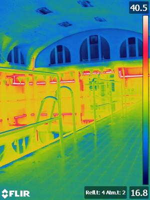 Bouwfysisch advies en energie audit erfgoedproject Zwembad Jan Guilini