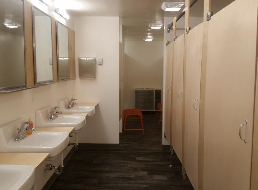 Main bathhouse