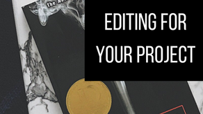 Which Type of Editing Is Best for Your Project?