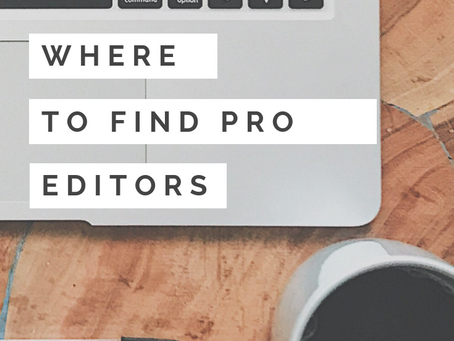 3 Places to Find Professional Editors Online