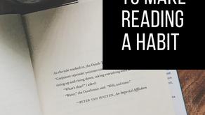 8 Ways to Make Reading a Habit