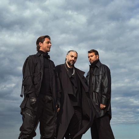 Performance do trio Swedish House Mafia no VMA