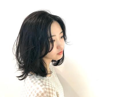 暗髪スタイル!