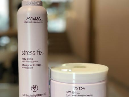 AVEDA ストレスフィクスシリーズ