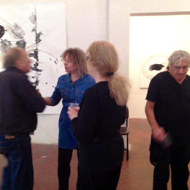 """""""Marks"""", Gallery 121, Tel-Aviv 2013"""