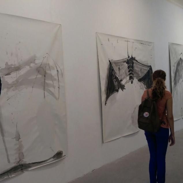 """""""Hanging"""", Artist House , Tel-Aviv 2014"""