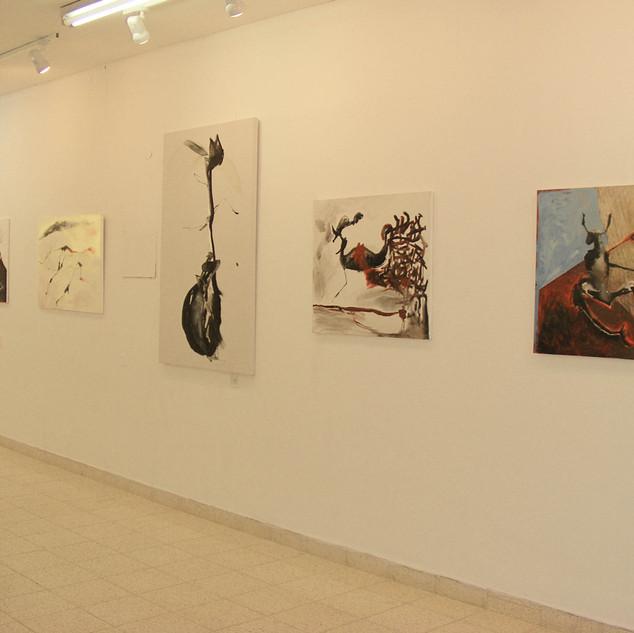 "2007 ""Figurative Calligraphy""- Hanita Contemporary Art Museum, Kibutz Hanita"
