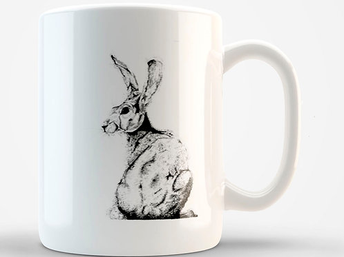 Turning Hare Mug