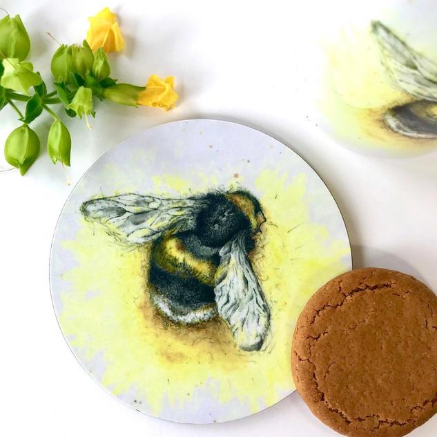 Bumble Bee Coaster