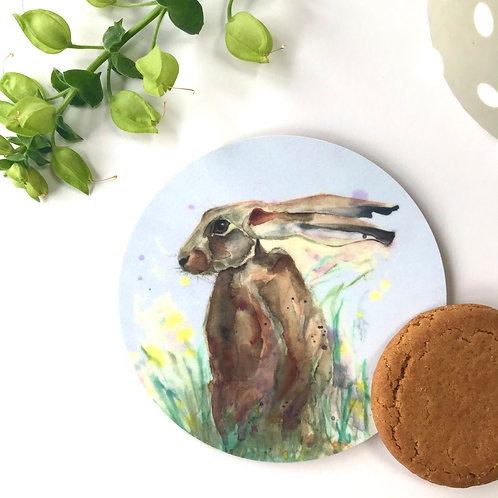 Hare Coaster (Blue)