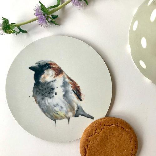 House Sparrow Coaster
