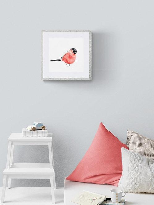 Bullfinch Print