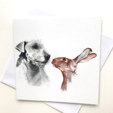 Gifted Hound Greetings Cards