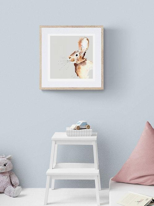 Happy Bunny Print
