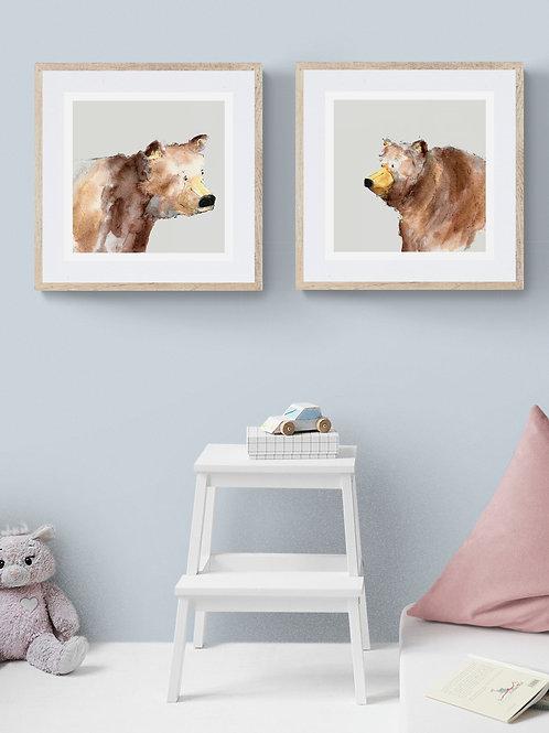 Happy Bear Print