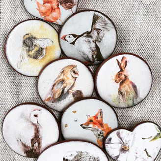 Gifted Hound Brooch Selection