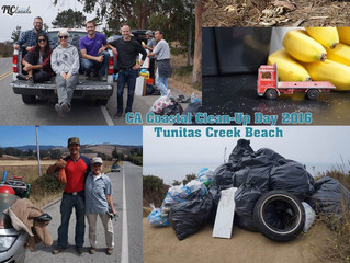 Thank You for a successful CA Coastal Clean-Up Day!!!