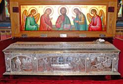 St Savvas of Kalymnos relic