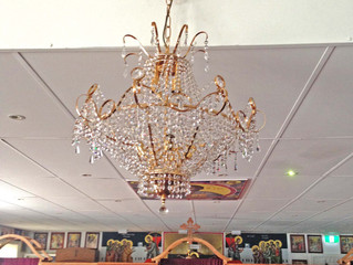 Our New Chandelier