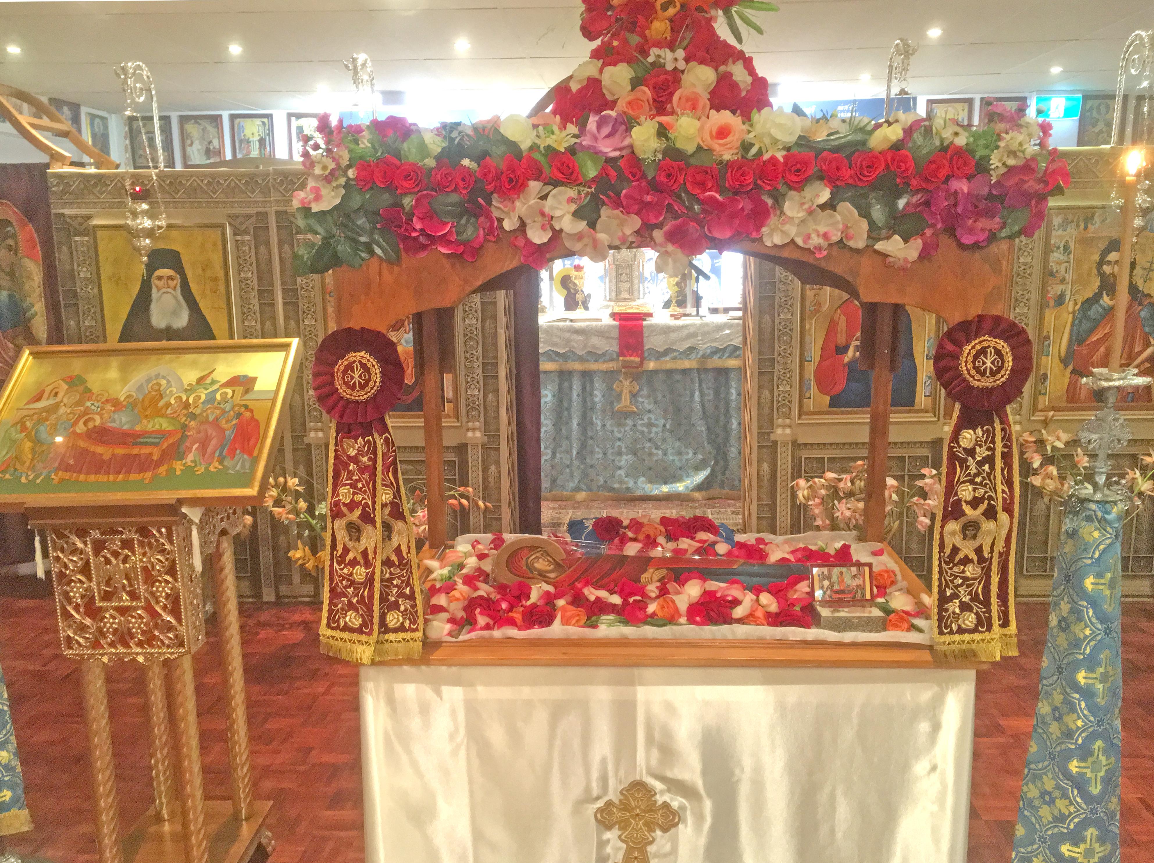 Panagias Tomb @ St Savvas