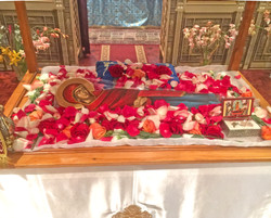 Panagias Epitafio at St Savvas
