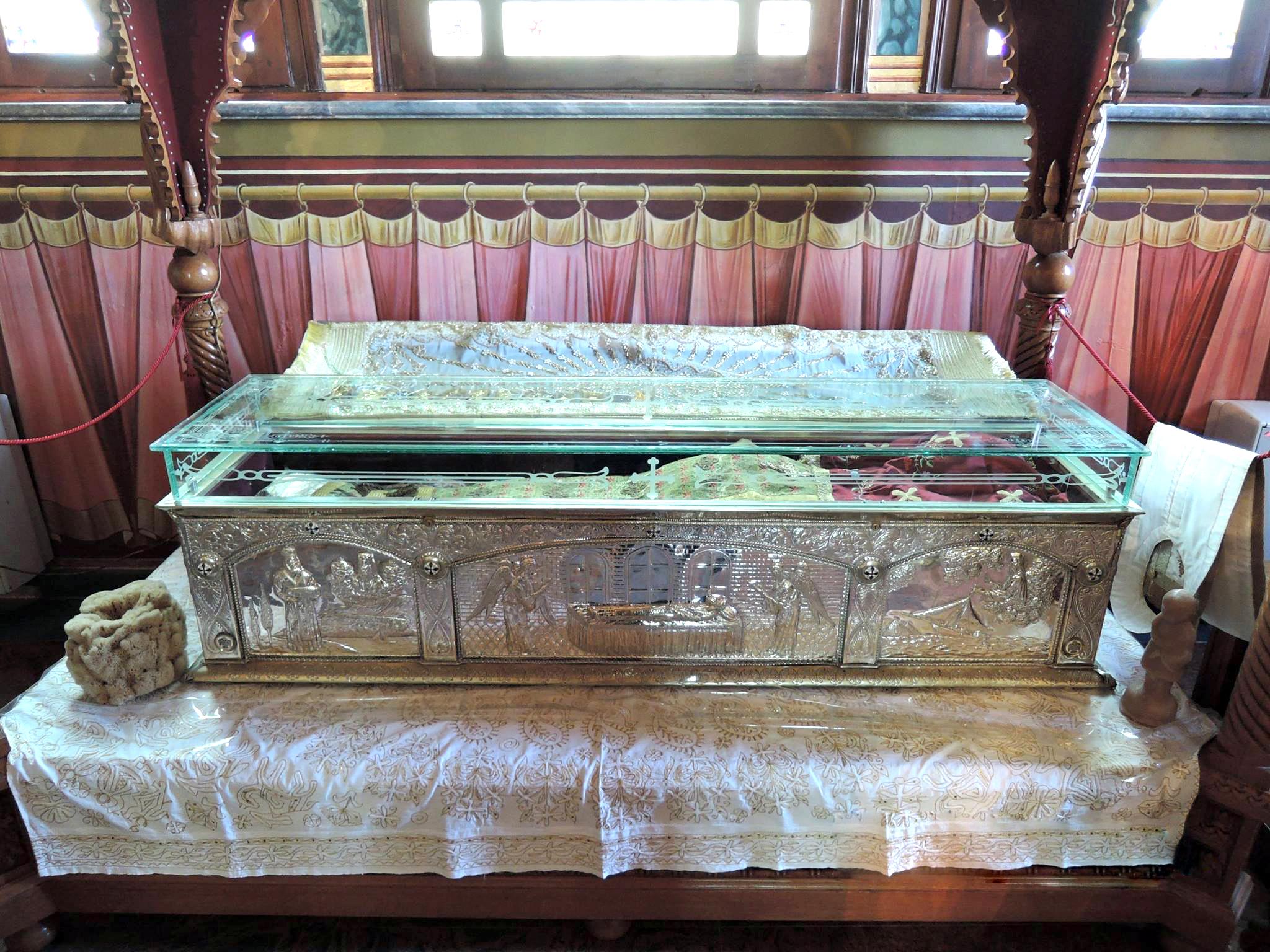 St Savvas Holy Relic