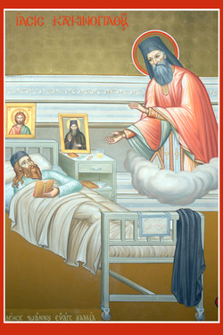 St Savvas of Kalymnos miraclcle