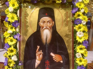 St Savvas of Kalymnos Feast Day- A Miracle Before our Eyes! 25/3/2018