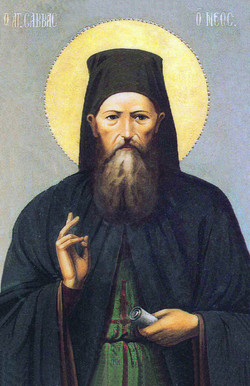 St Savvas-original icon