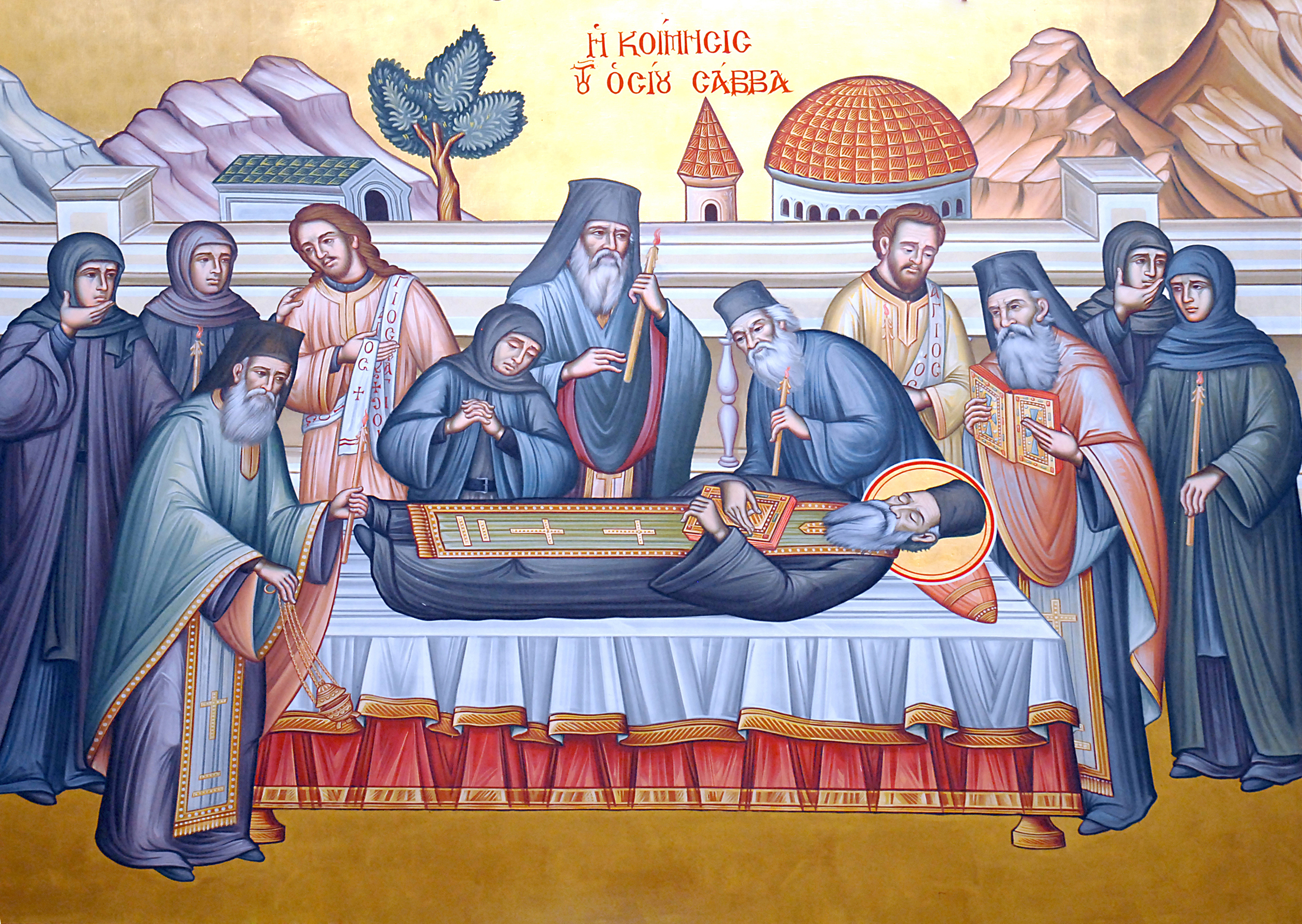 St Savvas of Kalymnos Dormition