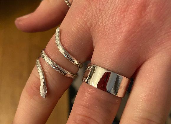 Open Studio - Make a silver snake ring