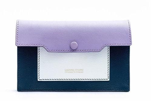 Abendtasche - Violet & Navy