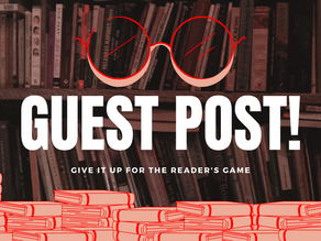 Guest Post Time!