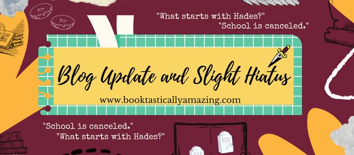 Updated Blog and Hiatus Status.