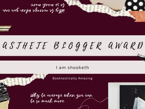 Aesthete Blogger Award