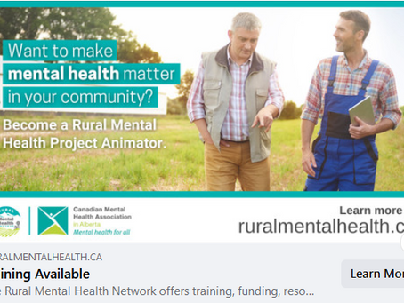 Become a Rural Mental Health Community Animator