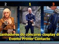 Ganhadores do concurso cosplay do Evento Primer Contacto - Diário do Capitão S06EP154