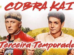 Cobra Kai: 3º temporada / Transmissão ao vivo do Diário do Capitão.