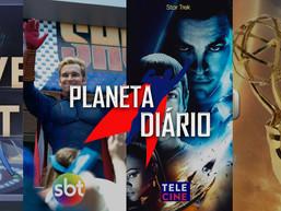 23 semanas de Star Trek, Indicados ao Emmy , ST no Tele Cine e The Boys no SBT.