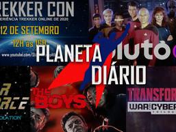 Trekker Con 2.0, Pluto TV, Star Force, The Boys e Transformers (09.07.2020)