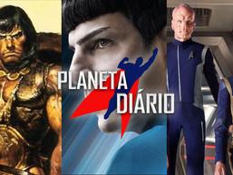 Zachary Quinto pronto para outro filme de Star Trek , Conan, O Bárbaro e 3 anos de Discovery.