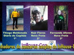 Ganhadores do concurso cosplay da InHouse-Con - Diário do Capitão S06EP138
