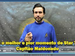 Qual o melhor e pior momento de Star Trek: Capitão Maldonado - Diário do Capitão S06EP132