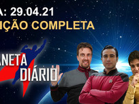 Planeta Diário - 29/04/21 - Star Trek: Legends' / Discovery' pausada / LeVar Burton /Michael Collin.