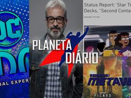 Alex Kurtzman, Painéis de Star Trek, InHouse-Con, DC toca de equipe e Status Report.