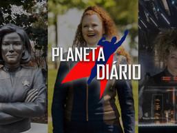 Planeta Diário - 29/10/2020 - Picard em Janeiro/ Monumento da Capitã Janeway/ #EmprestaFernando