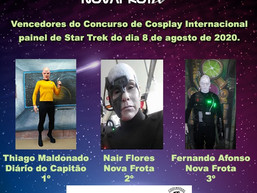 Ganhadores do concurso cosplay da InHouse-Con