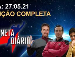 Planeta Diário - 27/05/21 - Vilão de Cobra Kai / J.J. errou em Star Wars / Amazon compra MGM.