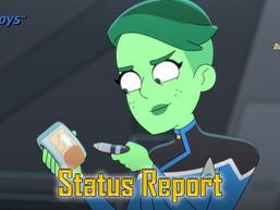 "Status Report: Star Trek: Lower Decks, ""Envoys"""